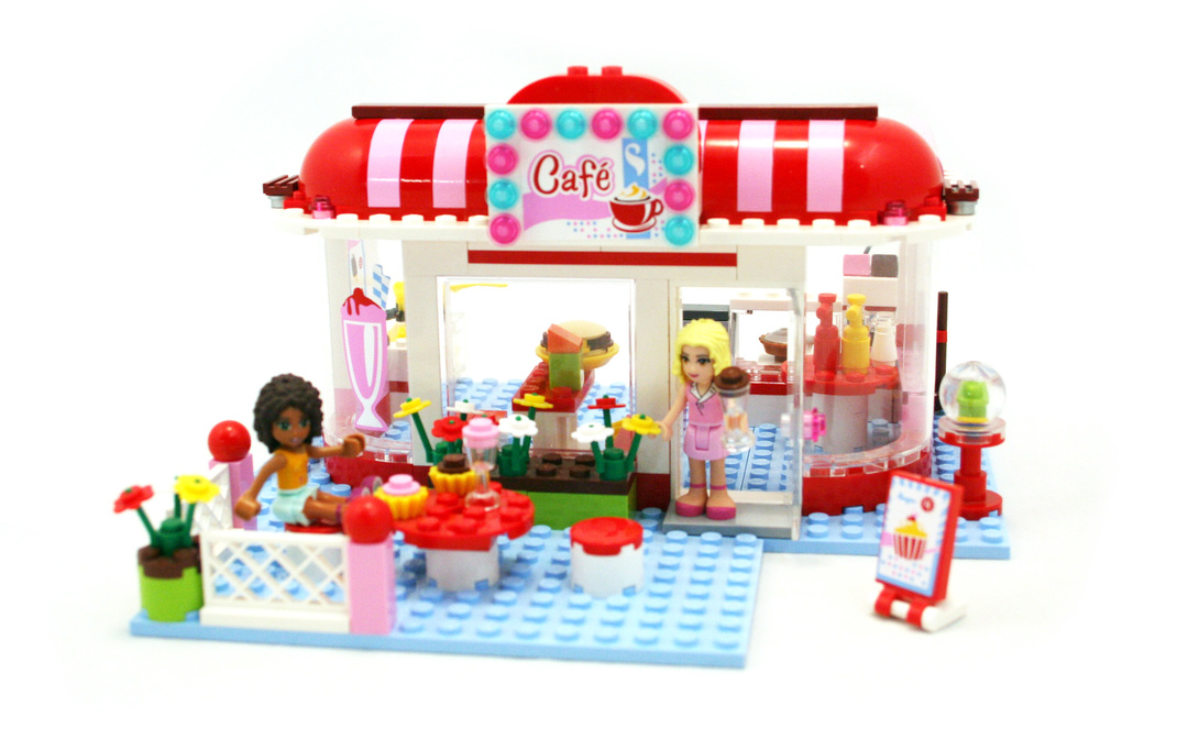 City Park Cafe - LEGO set #3061-1