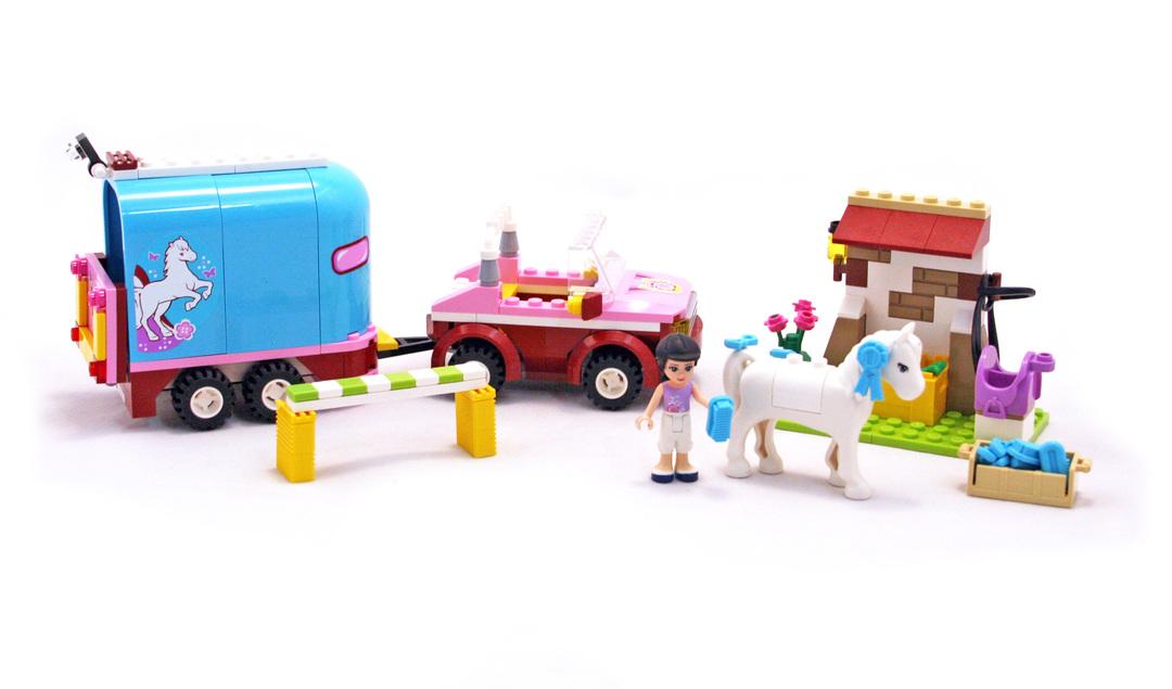 Horse Trailer Lego Set 3186 1 Building Sets Friends