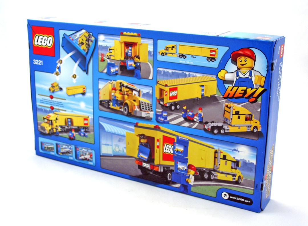 lego city truck 3221 instructions