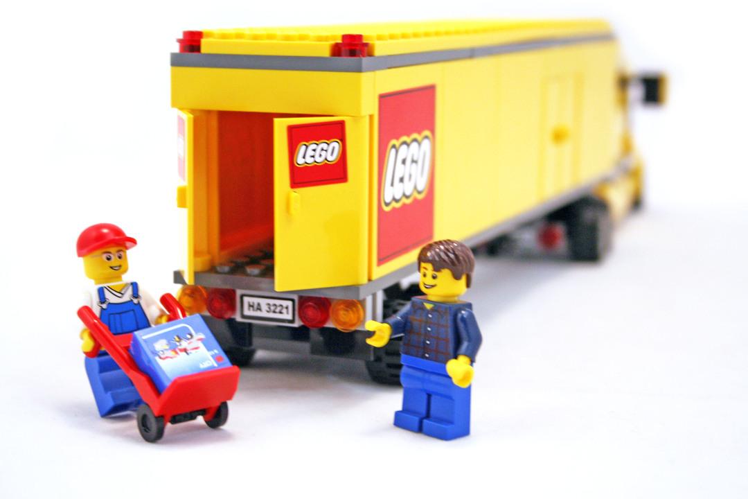 lego city truck lego set 3221 1 building sets city. Black Bedroom Furniture Sets. Home Design Ideas