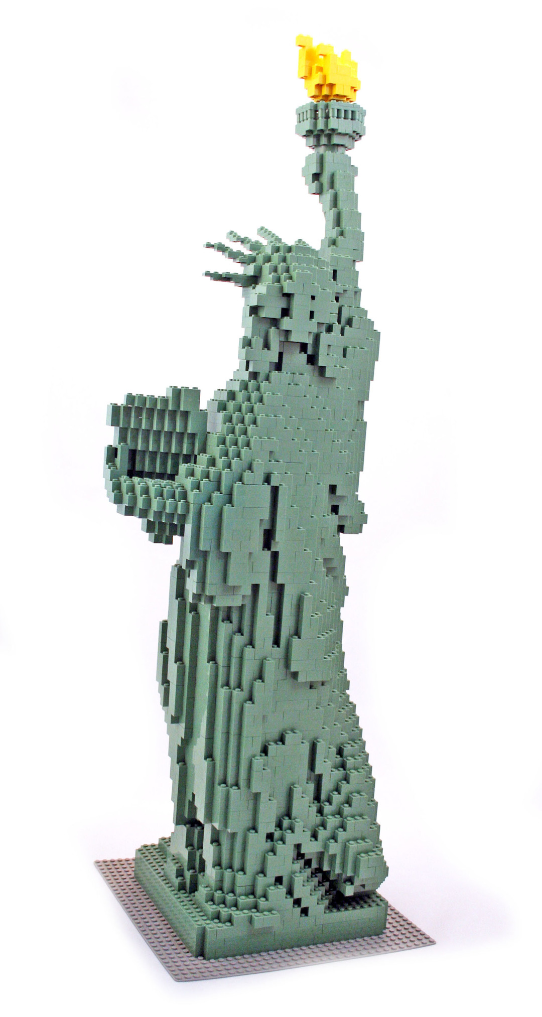 lego statue of liberty instructions