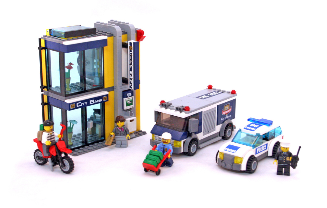 Bank Money Transfer Lego Set 3661 1 Building Sets City
