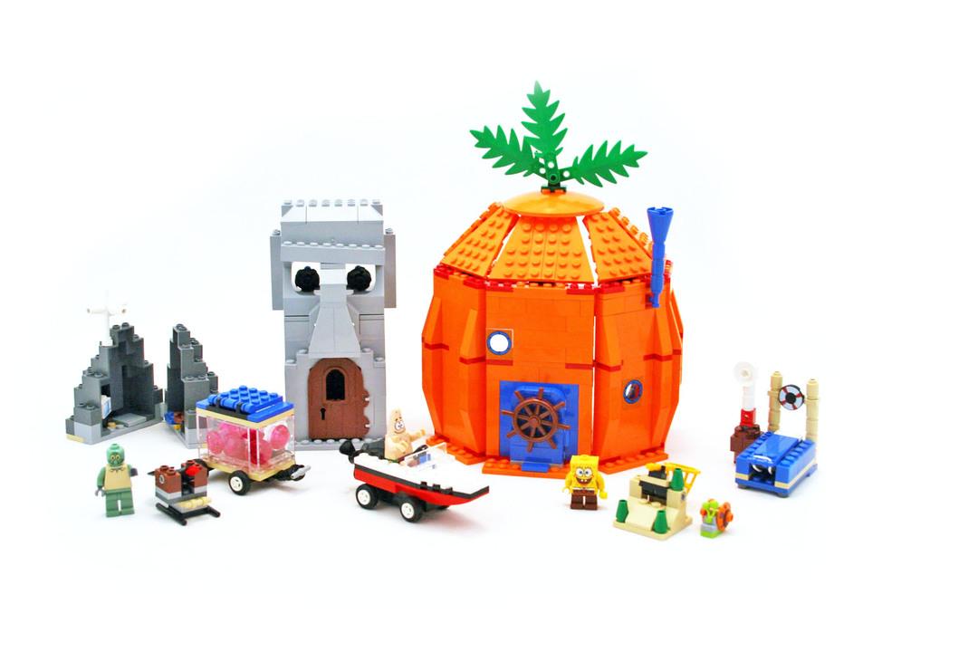 Adventures In Bikini Bottom Lego Set 3827 1 Building Sets