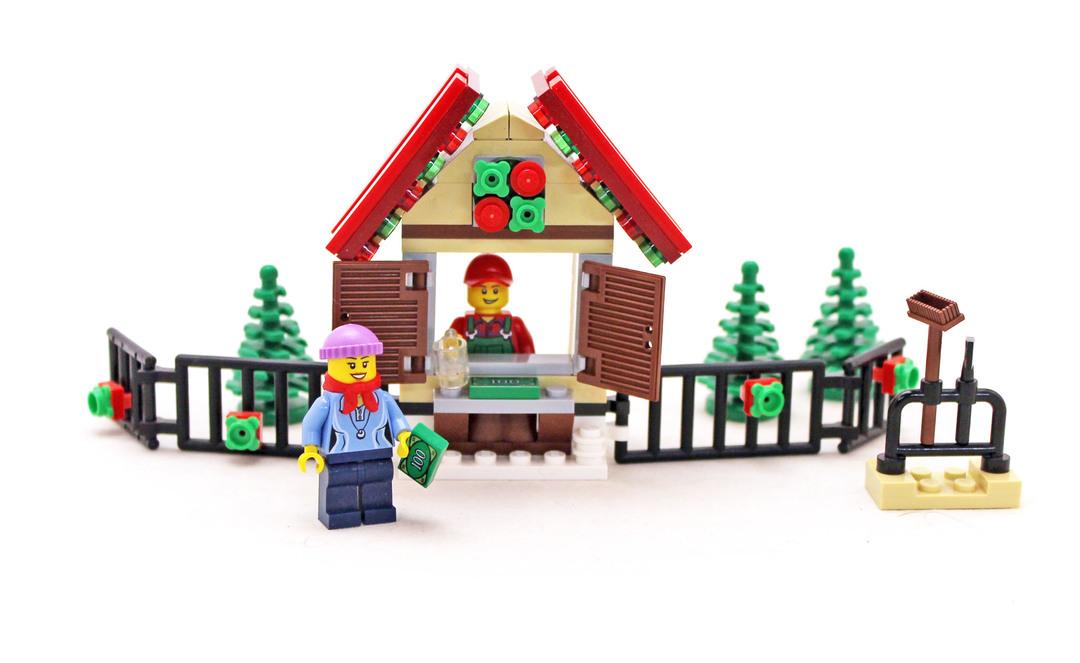 Christmas Tree Stand Lego Set 40082 1 Building Sets Holiday