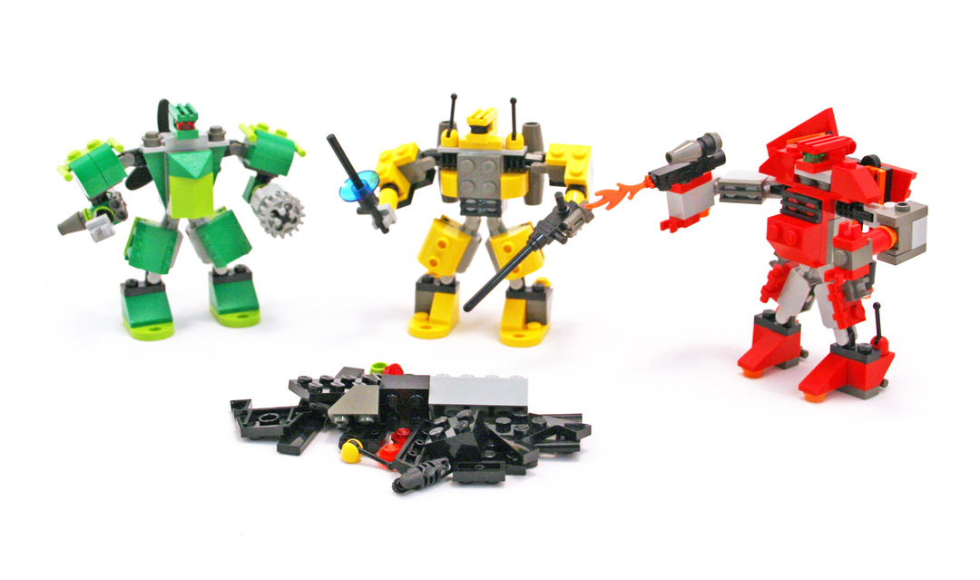 how to build a robot out of legos