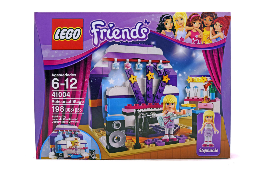 Rehearsal Stage - LEGO set #41004-1 (NISB) (Building Sets > Friends)