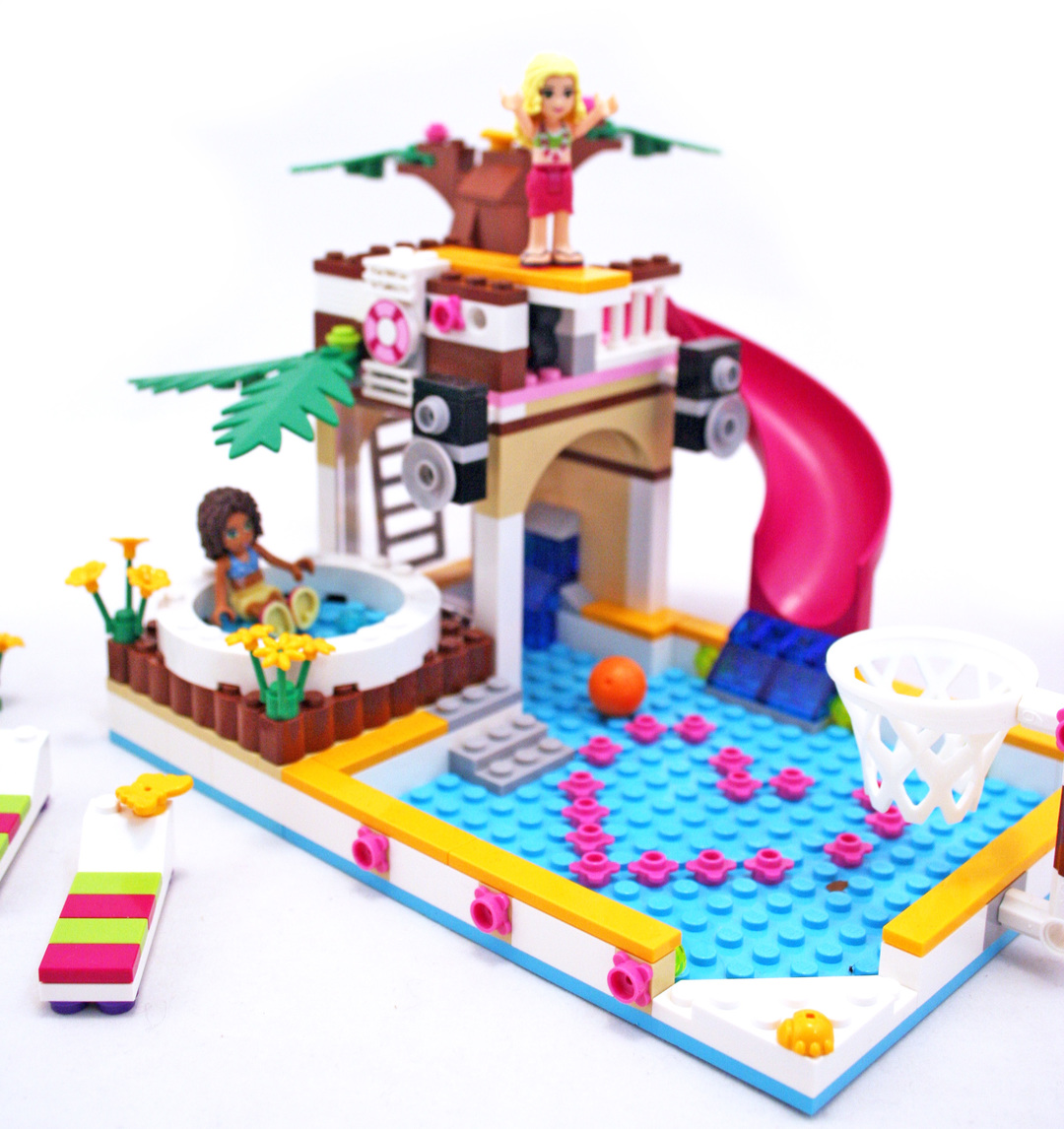 lego friends heartlake city pool instructions