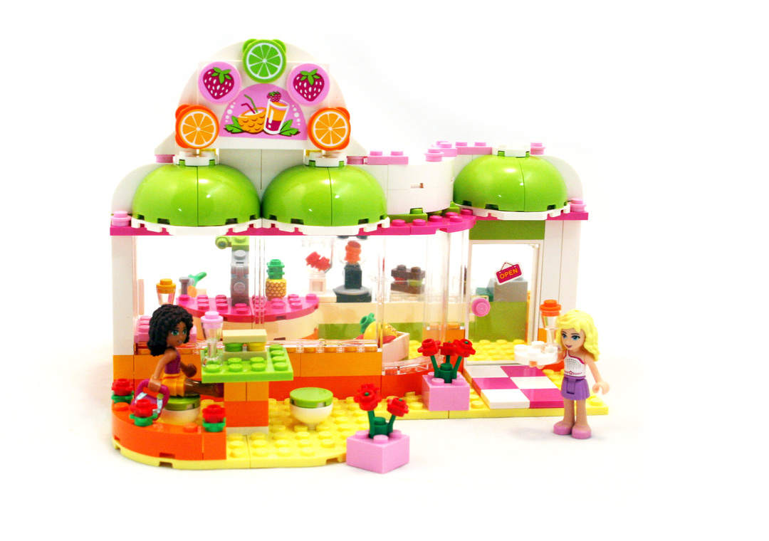 Heartlake Juice Bar - LEGO set #41035-1 - 1