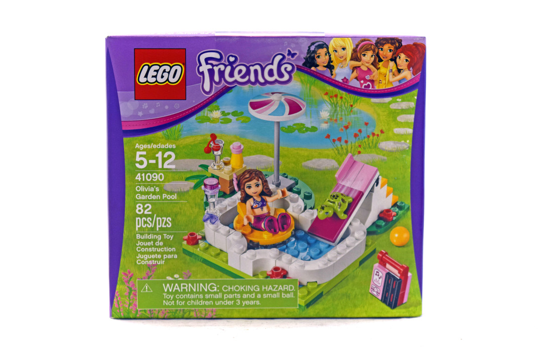Olivia 39 s garden pool lego set 41090 1 nisb building for Olivia s garden pool instructions