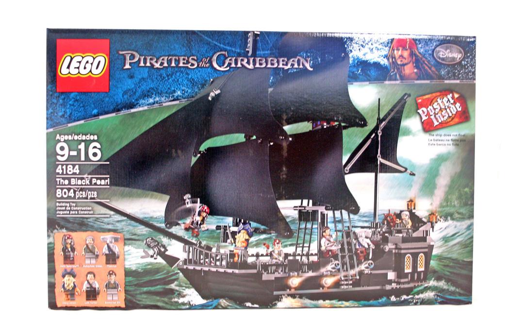 The Black Pearl - LEGO set #4184-1