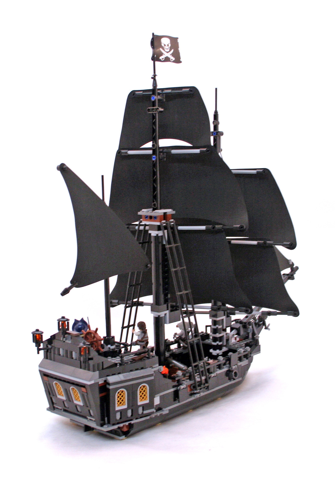 lego pirates of the caribbean black pearl instructions