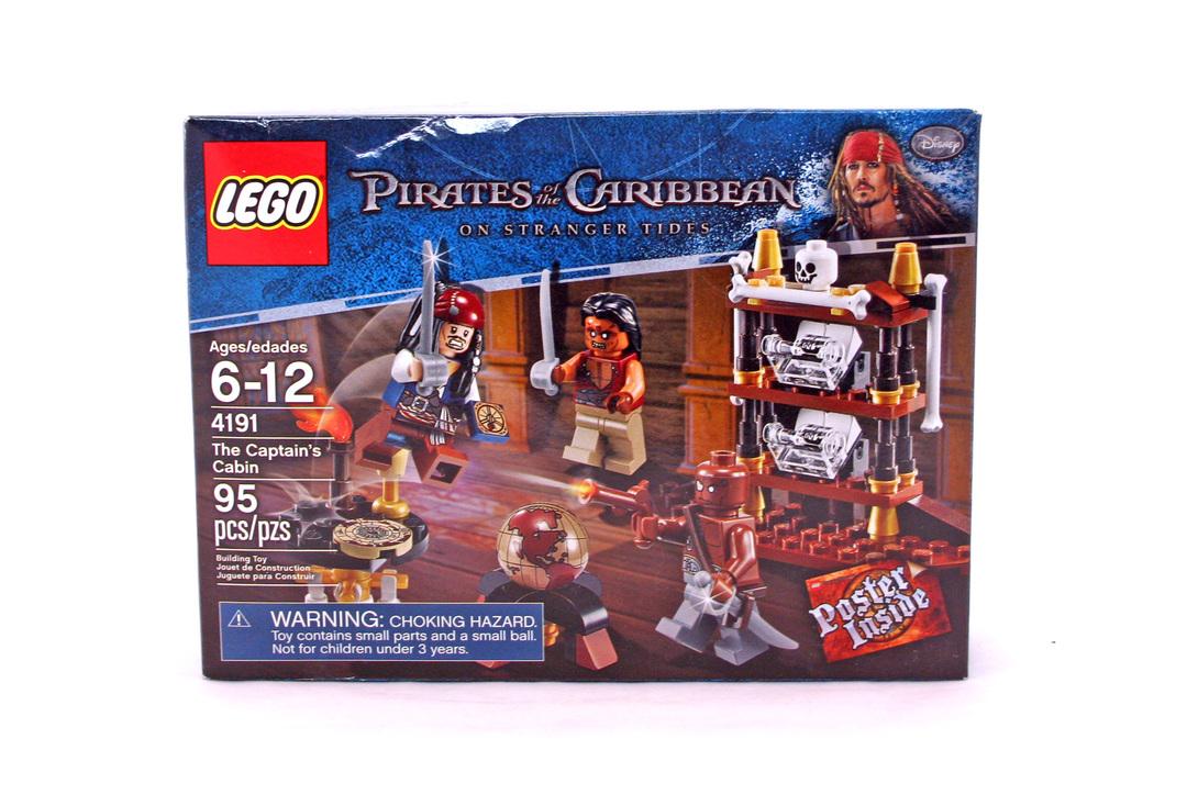 The Captains Cabin - LEGO set #4191-1