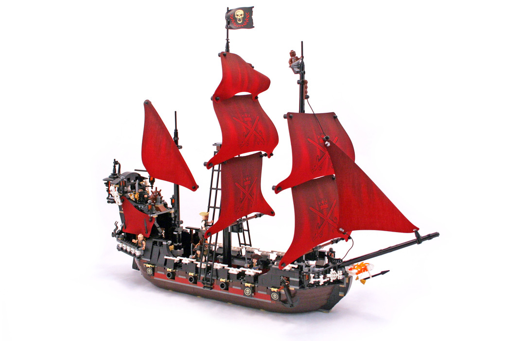 Queen Anne's Revenge - LEGO set #4195-1