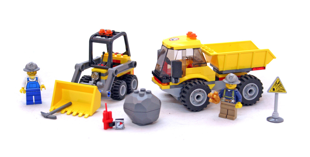 Loader and Tipper - LEGO set #4201-1 - 1