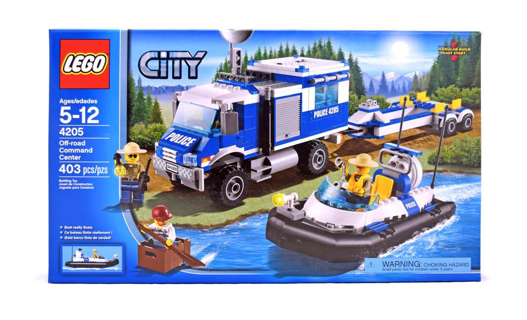 lego 4205 1 off road command centre - Lego City Bateau