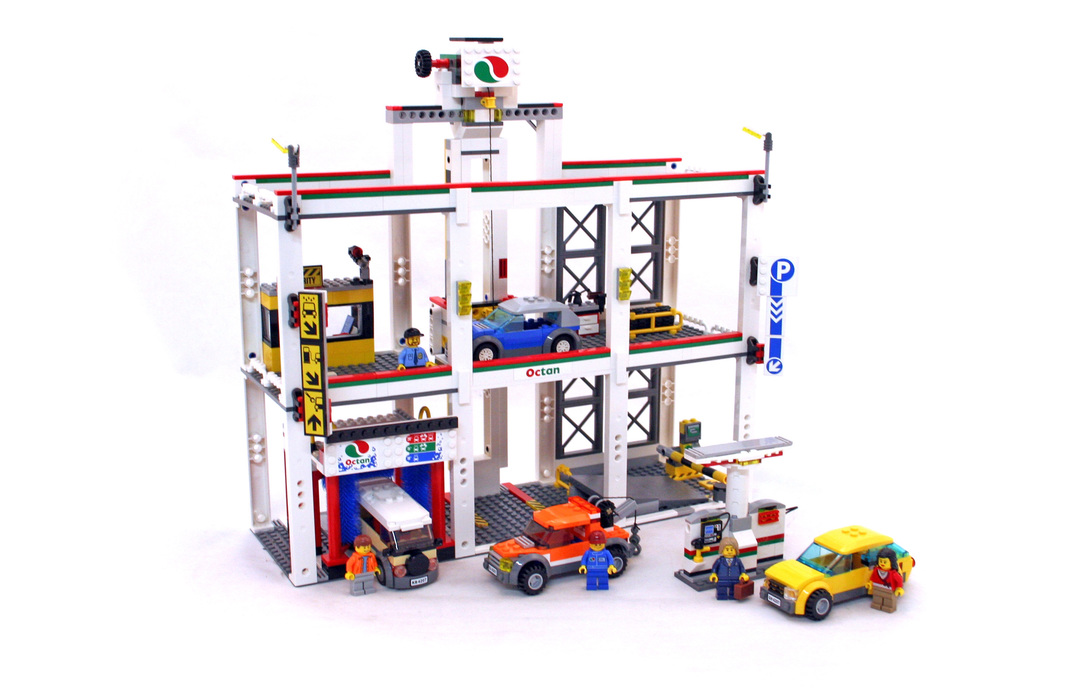 City Garage Lego Set 4207 1 Building Sets City