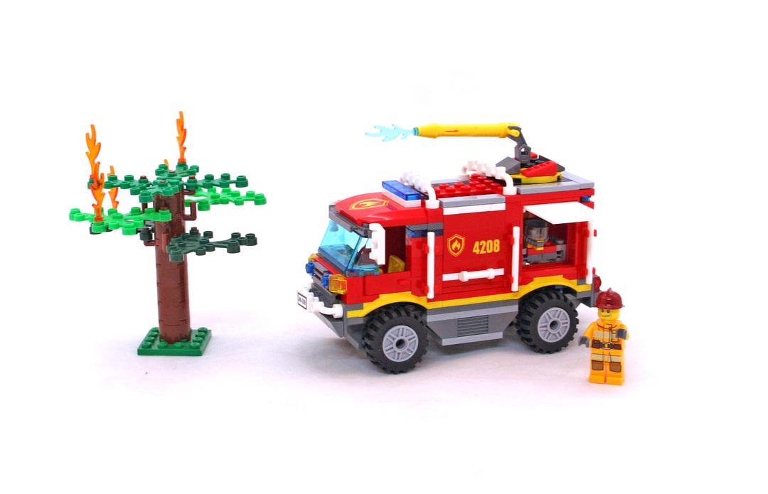 Fire Truck Lego Set 4208 1 Building Sets City