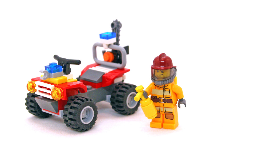 Fire ATV - LEGO set #4427-1