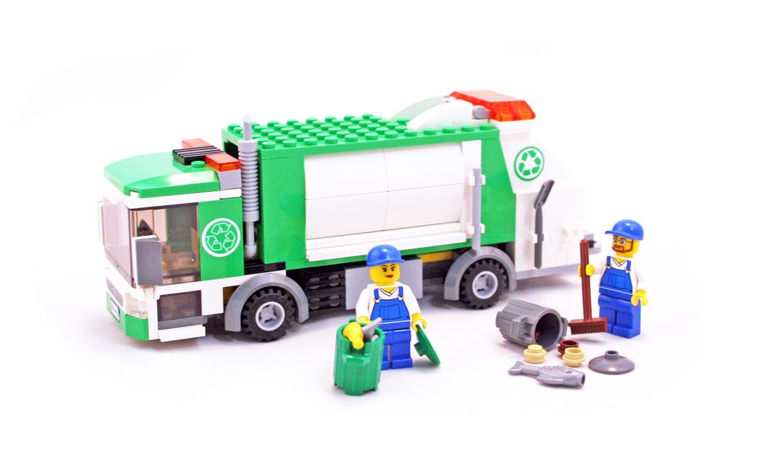 Garbage Truck Lego Set 4432 1 Building Sets City
