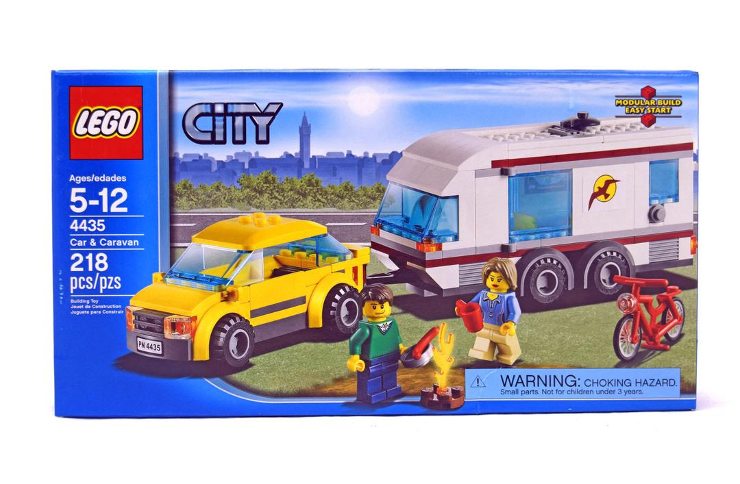 Car And Caravan Lego Set 4435 1 Nisb Building Sets City