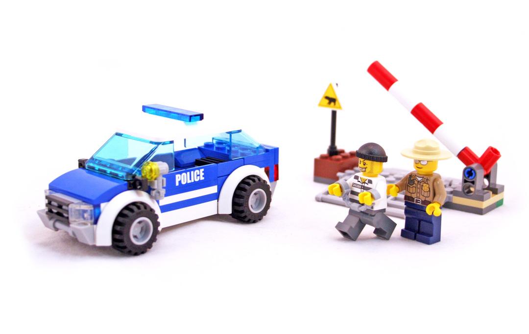 Patrol Car - LEGO set #4436-1