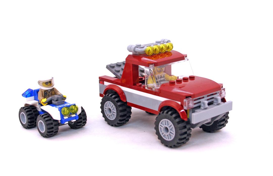 Police Pursuit - LEGO set #4437-1