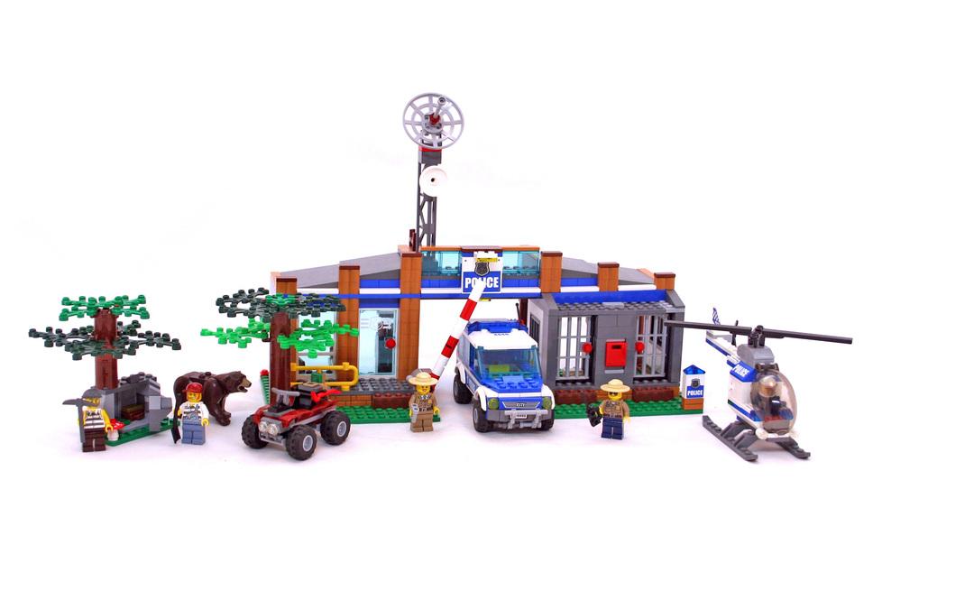 Forest Police Station Lego Set 4440 1 Building Sets City