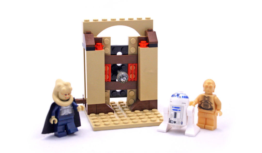 Jabba's Message - LEGO set #4475-1
