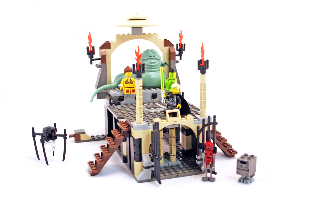 Jabbas Palace Lego Set 4480 1 Building Sets Star Wars Classic