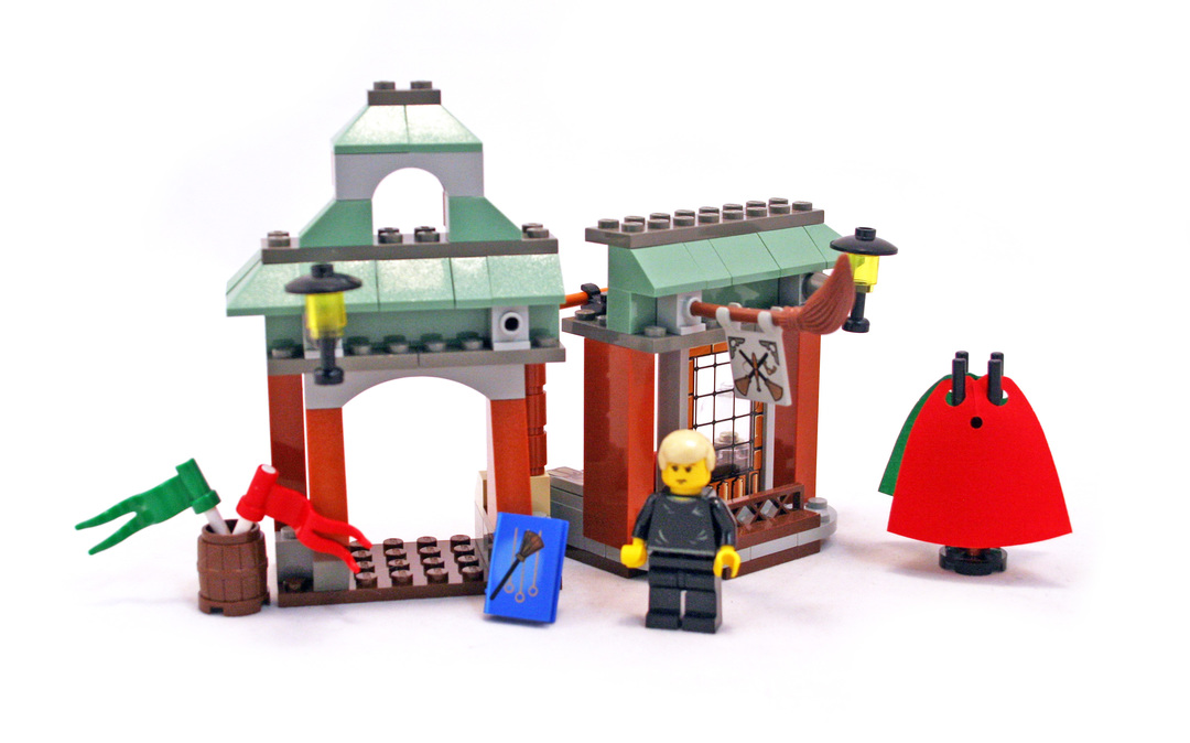 Quality Quidditch Supplies - LEGO set #4719-1