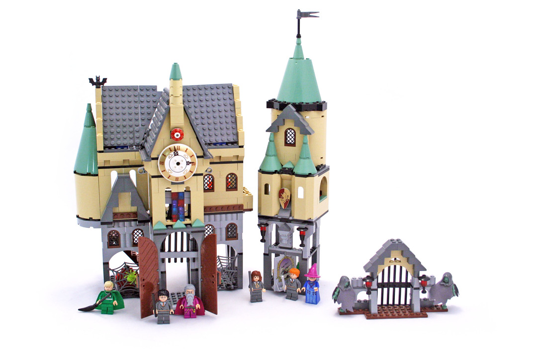 Hogwarts Castle (2nd edition) - LEGO set #4757-1