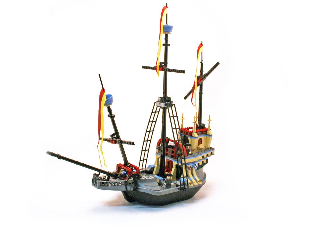 The Durmstrang Ship - LEGO set #4768-1