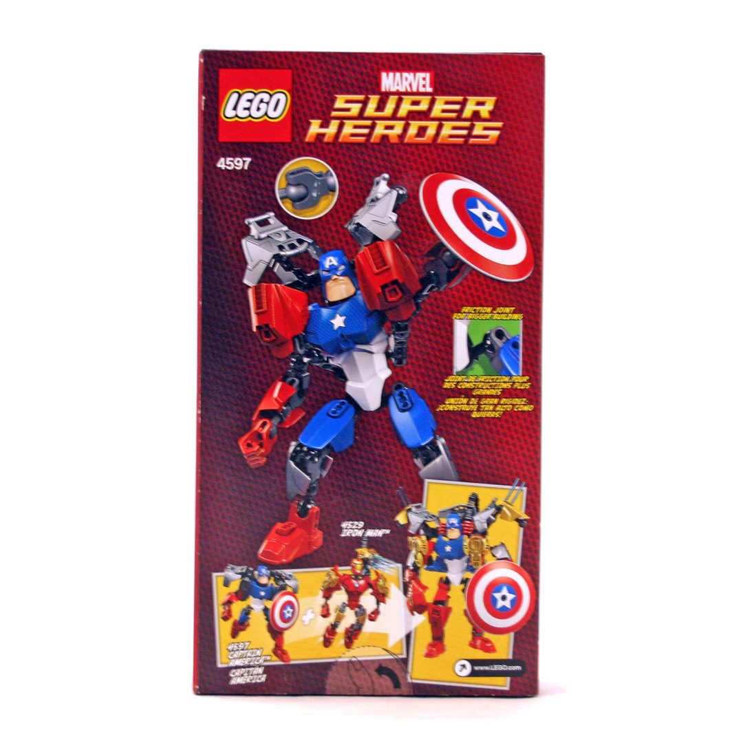 Captain America - LEGO set #4597-1 (NISB)