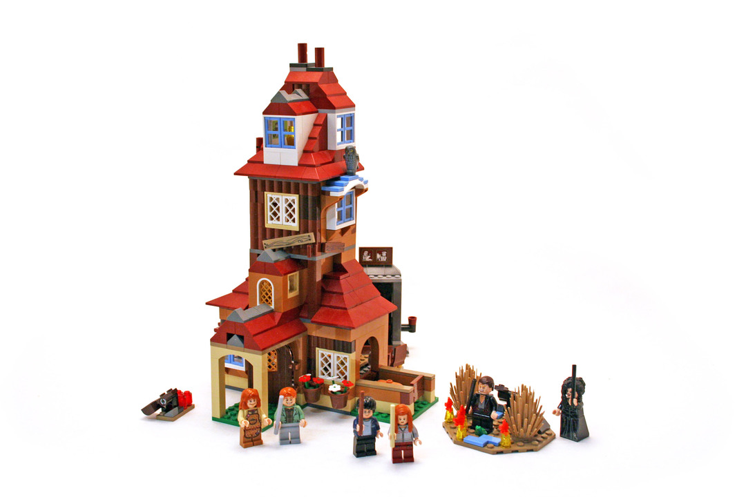 The Burrow - LEGO set #4840-1
