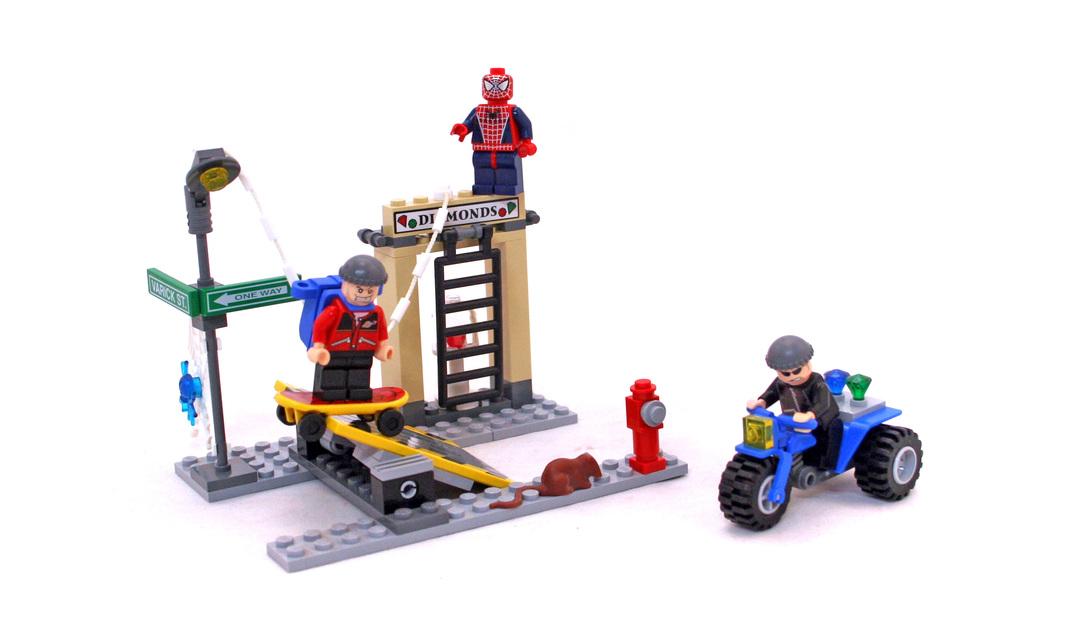 LEGO 4853-1 Spider-Man's Street Chase