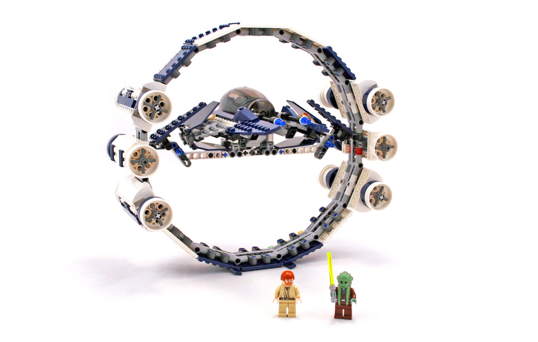 Jedi Starfighter with Hyperdrive Booster Ring - LEGO set #7661-1