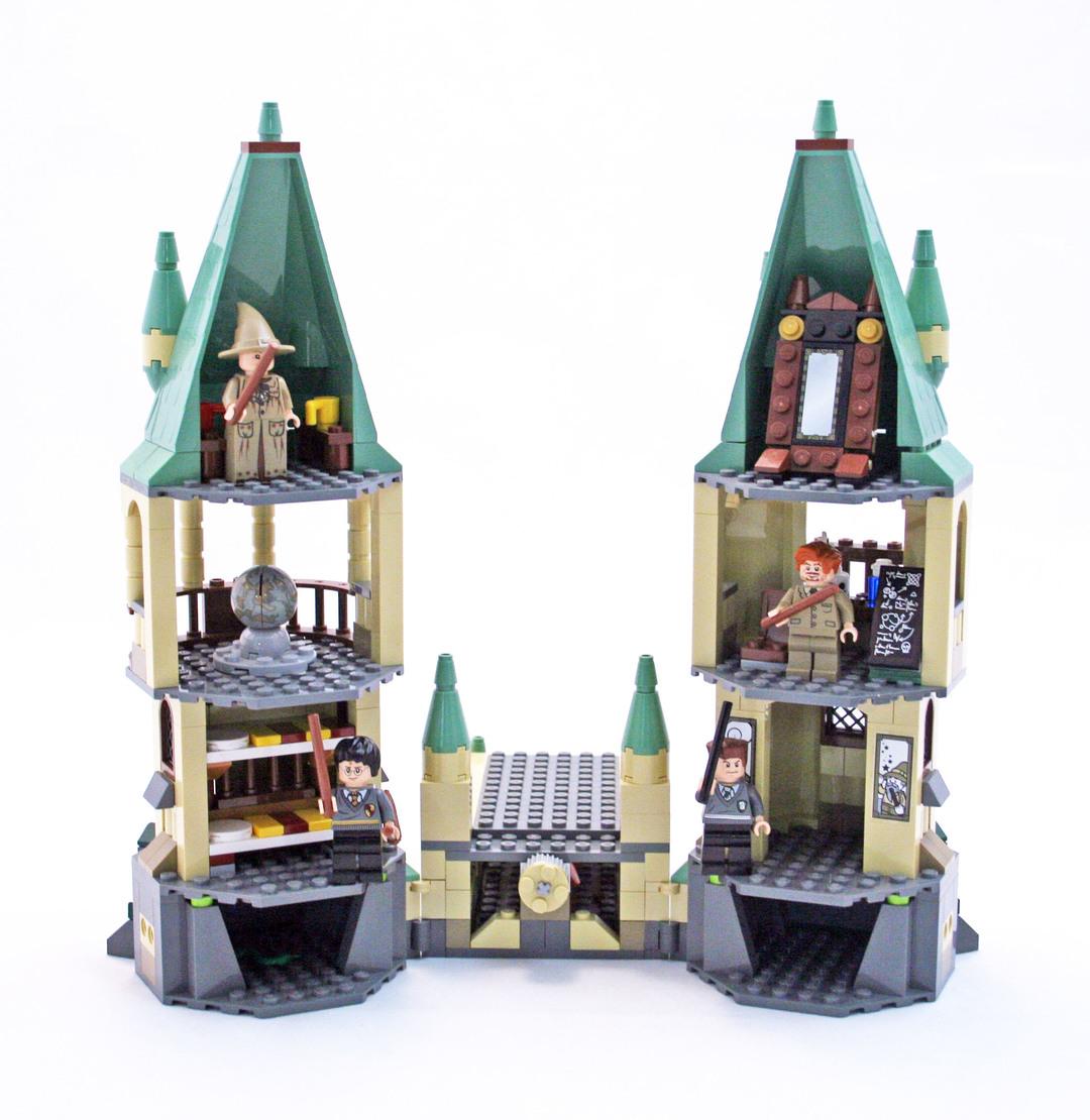 lego harry potter hogwarts castle instructions