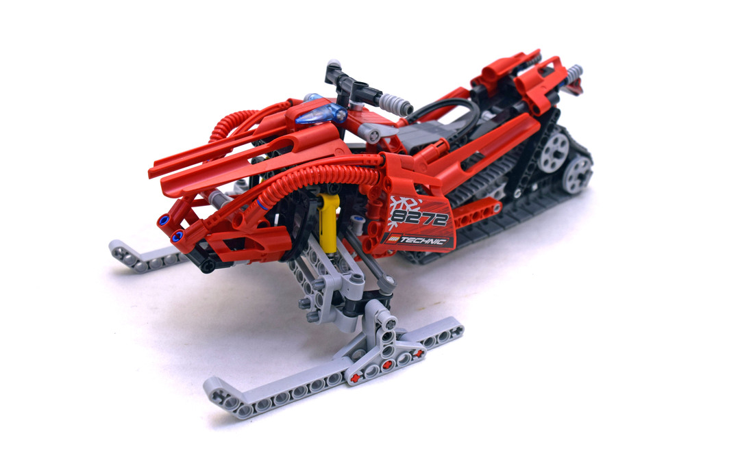 Snowmobile - LEGO set #8272-1