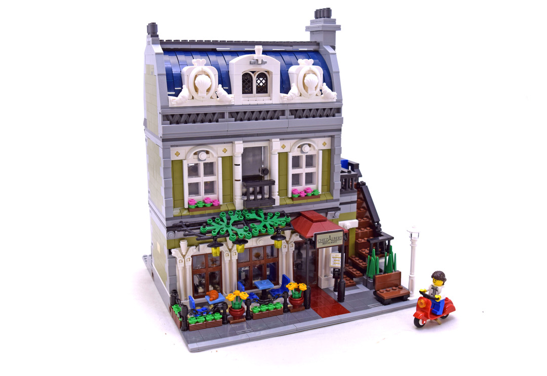 Parisian Restaurant - LEGO set #10243-1