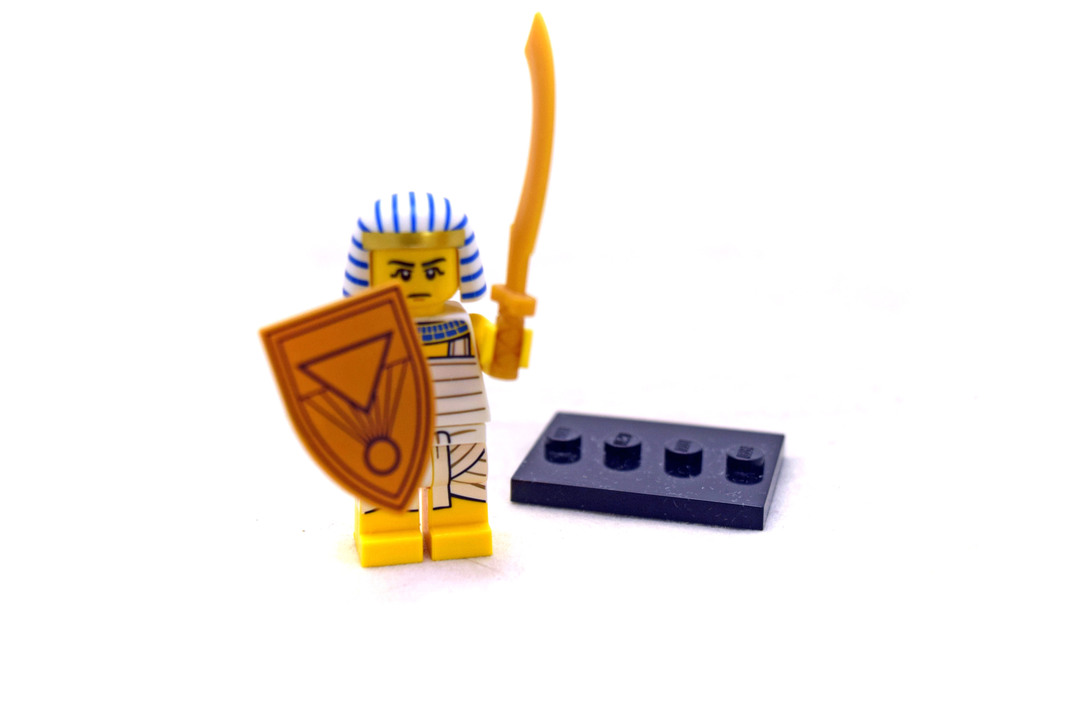 Egyptian Warrior - LEGO set #71008-8