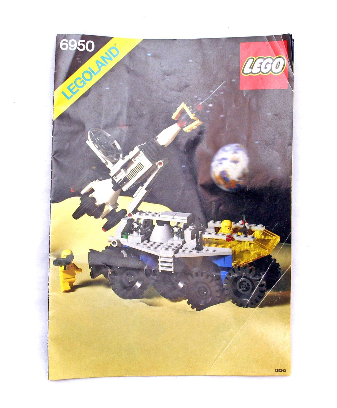 lego rocket ship instructions
