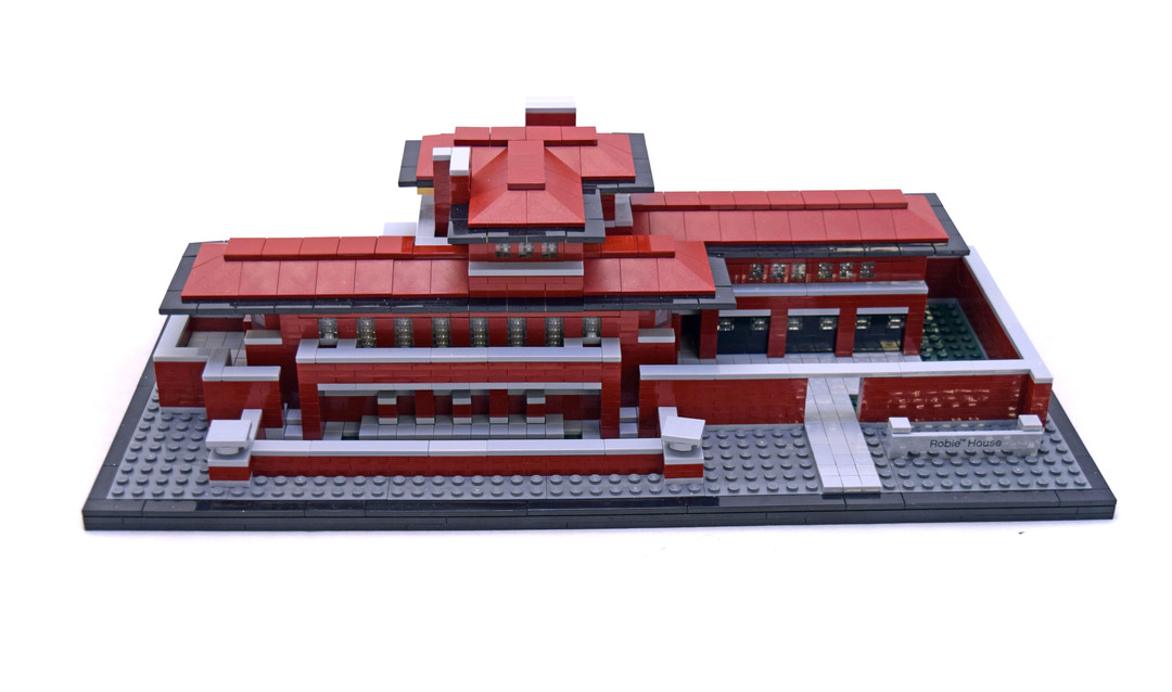robie house - lego set #21010-1 (building sets > architecture)