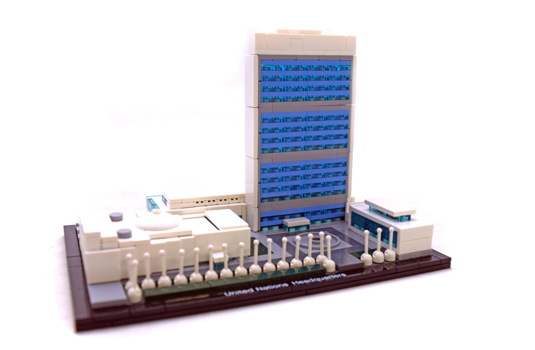 United Nations Headquarters - LEGO set #21018-1