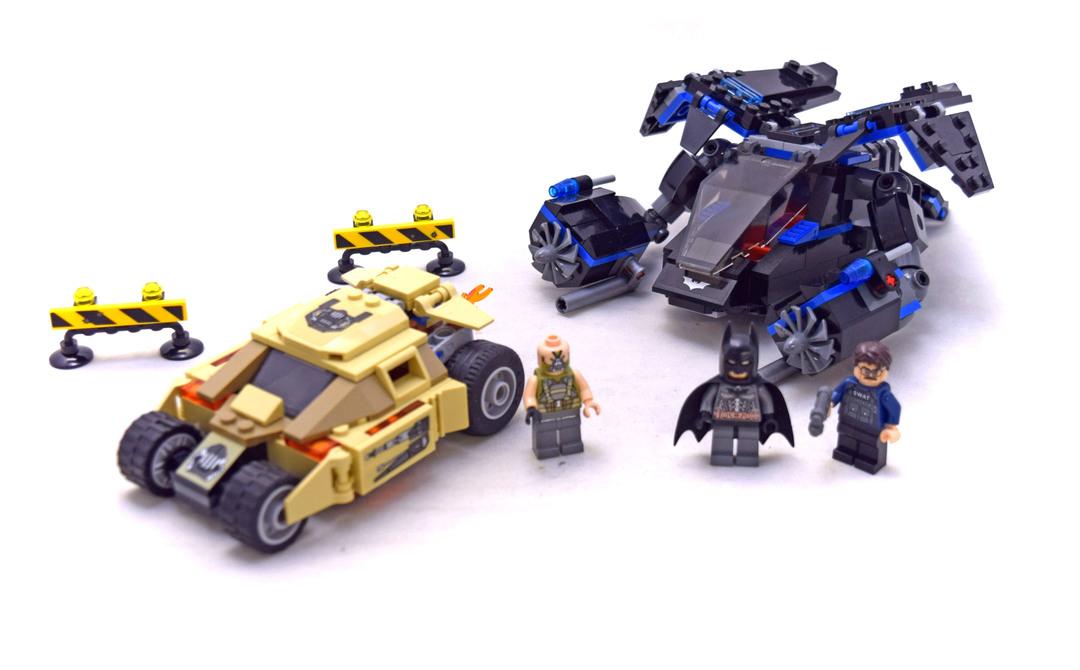 The Bat vs. Bane: Tumbler Chase - LEGO set #76001-1