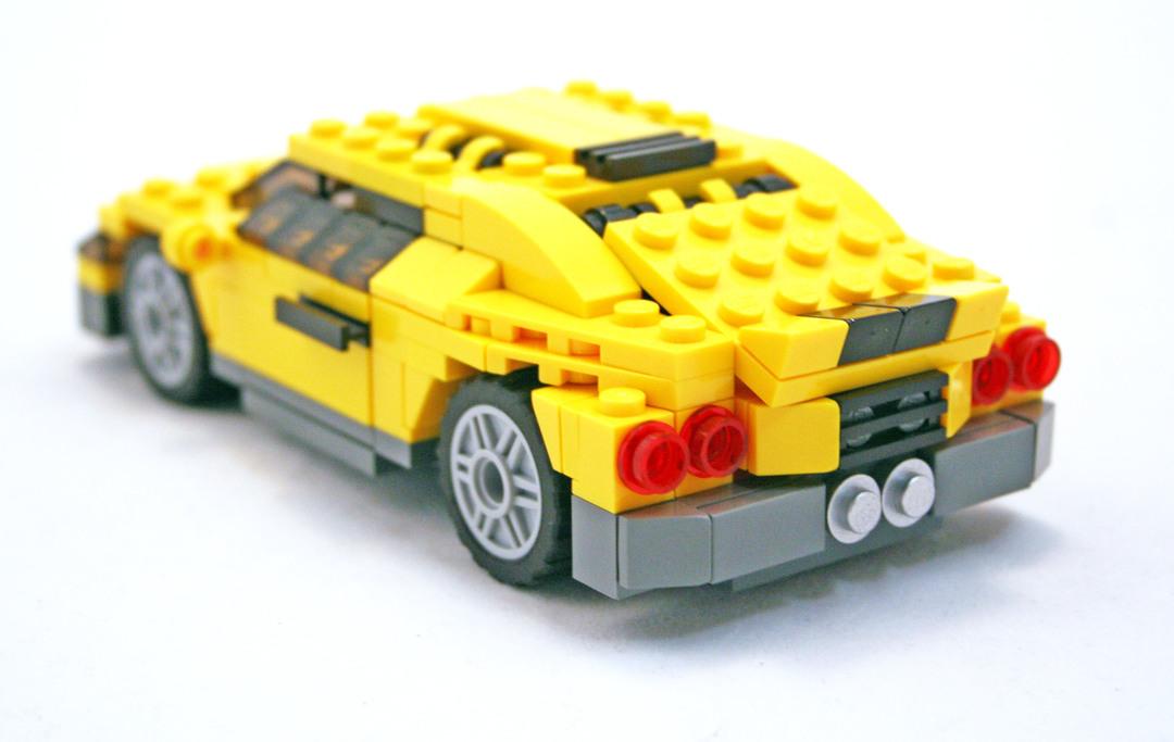 Cool Cars - LEGO set #4939-1 (Building Sets > Creator)