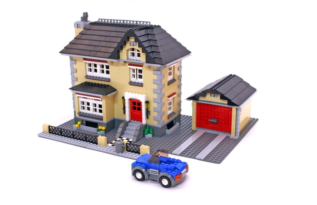 Model Town House Lego Set 4954 1 Building Sets Gt Creator
