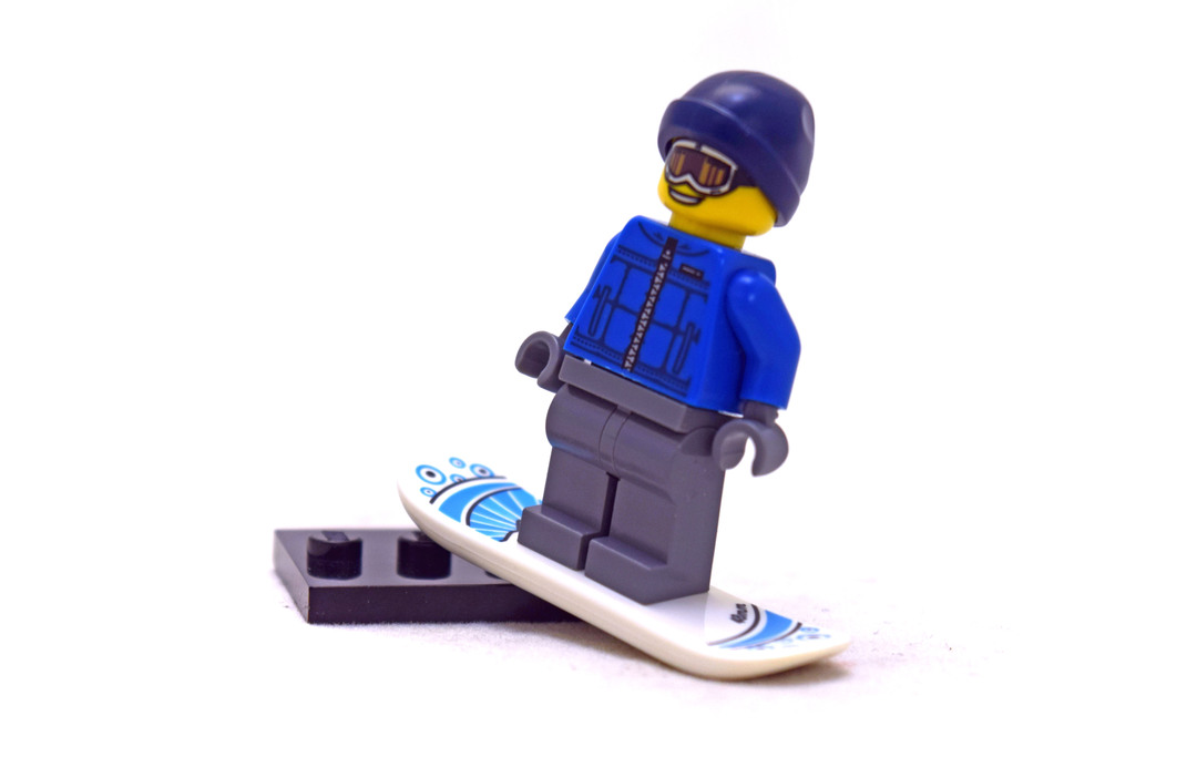 Snowboarder Guy - Minifigure Series 5 - LEGO #8805