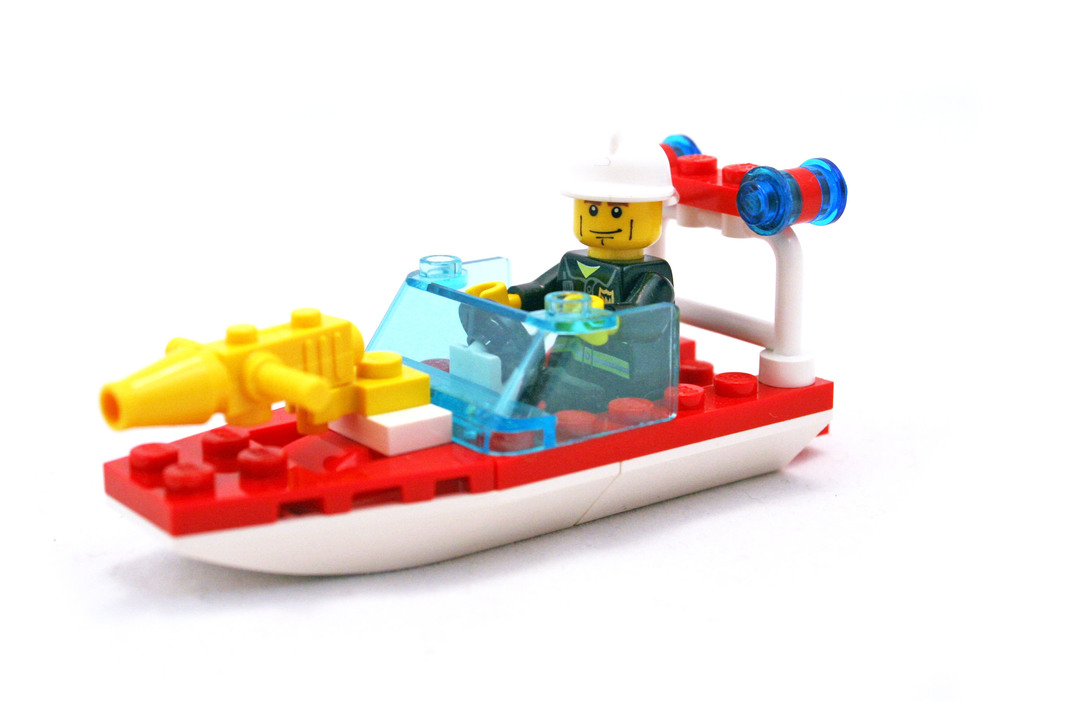 Fire Boat Lego Set 4992 1 Building Sets City