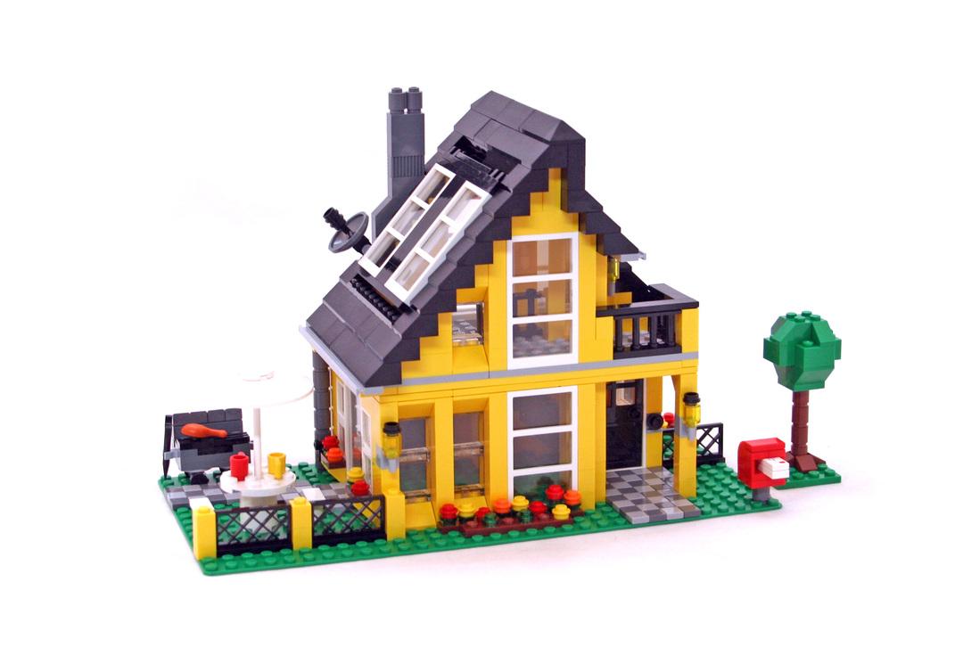 Beach house lego set 4996 1 building sets creator for Lego house original