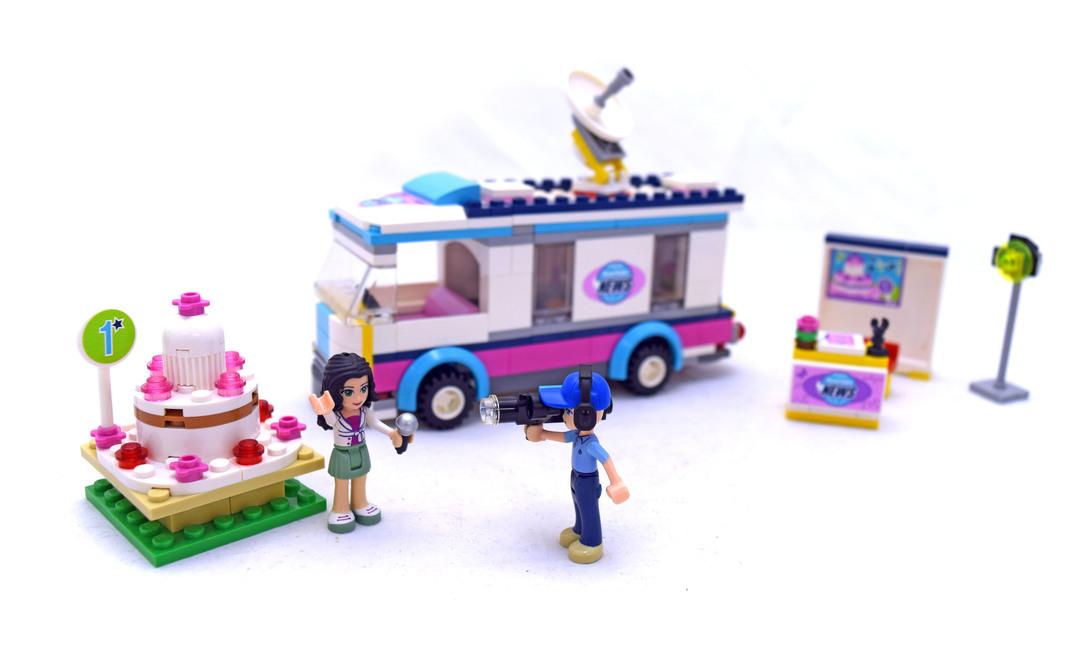 Heartlake News Van - LEGO set #41056-1 - 1